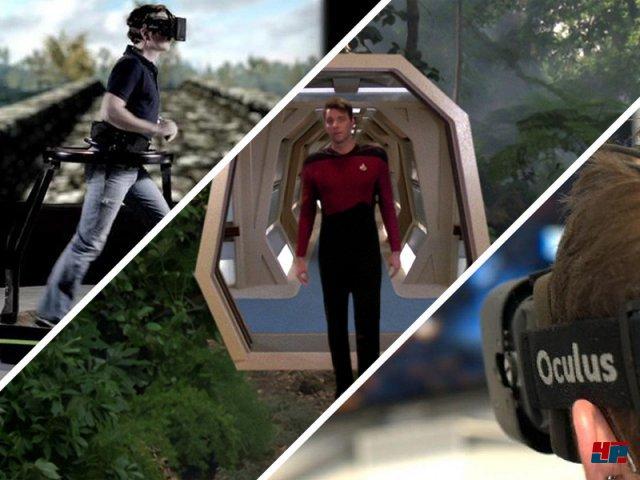 <b>Renaissance der Virtuellen Realität</b><br><br>Oculus Rift verhilft der Virtual Reality zu einem zweiten Frühling. Nachdem der Wirbel um das Kickstarter-Projekt immer größer wurde, versuchen sich auch andere Firmen und Tüftler an Headsets, die Ausflüge in virtuelle Welten ermöglichen sollen. Auch Valves Michael Abrash erklärte gestern, dass VR-Hardware in spätestens zwei Jahren massenmarkttauglich sein dürfte. Wir werfen einen Blick auf die interessantesten Entwicklungen.
