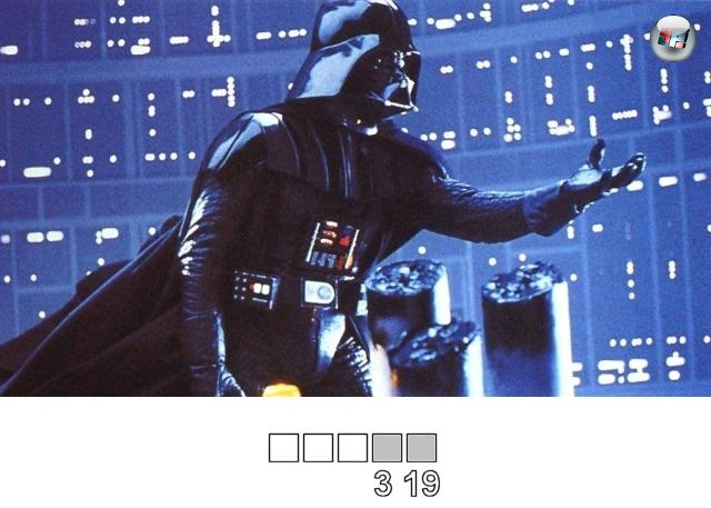 <br><br><b>Darth Vader ist Luke Skywalkers...</b>