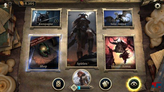 Screenshot - The Elder Scrolls: Legends (Android)