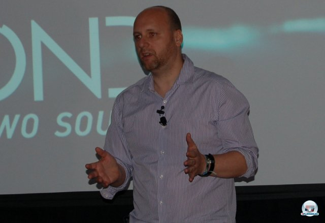 David Cage pr�sentierte in Los Angeles seine Vision f�r Beyond: Two Souls.