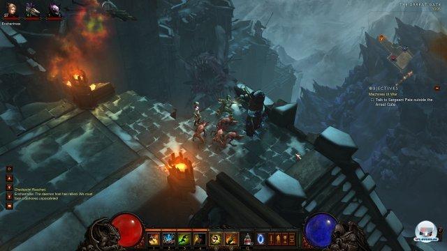 Kämpfen, sammeln, kämpfen, sammeln: Blizzard bricht die Routine viel zu selten auf.