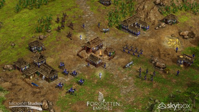 Screenshot - Age of Mythology: Tale of the Dragon (PC)