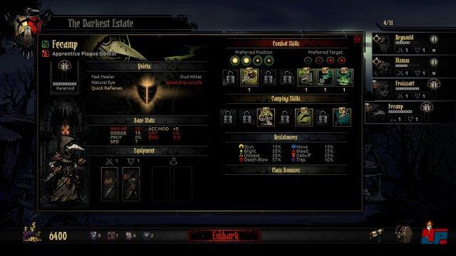 """Es gibt zehn Klassen in Darkest Dungeon, vom """"Highwayman"""" �ber den """"Jester"""" bis zum """"Bounty Hunter""""."""