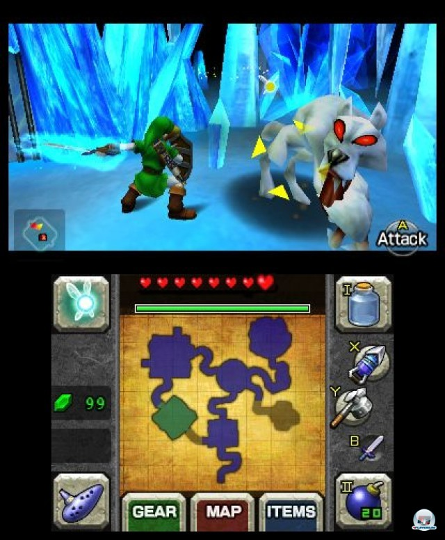 Screenshot - The Legend of Zelda: Ocarina of Time 3D (3DS) 2230653