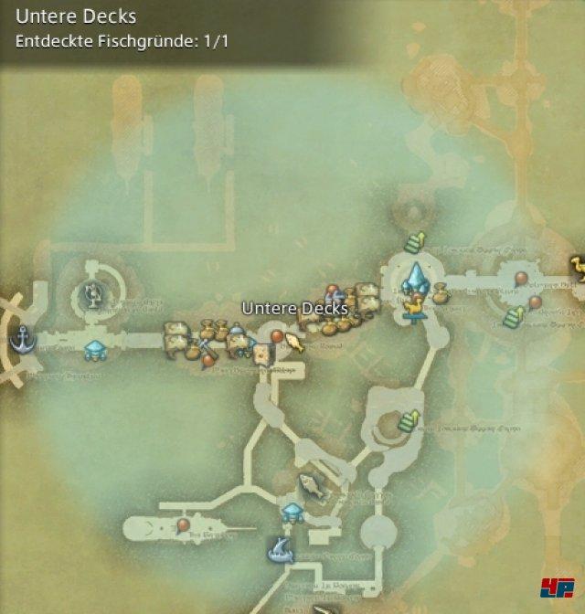 Final Fantasy XIV Online: A Realm Reborn - Fischgründe: La Noscea, Untere Decks