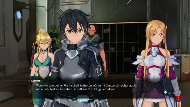Auch auf den Servern von Gun Gale Online trifft man auf viele vertraute Gesichter.