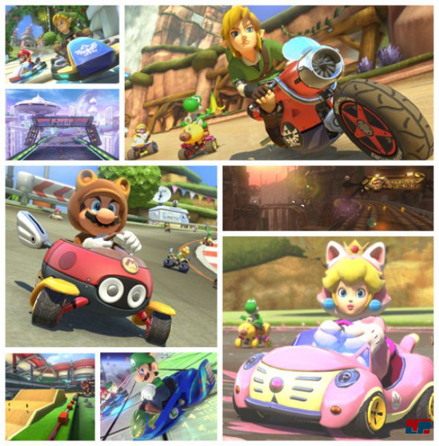 DLC-Paket 1: The Legend of Zelda X Mario Kart 8