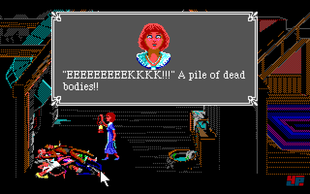 Screenshot - The Colonel's Bequest - a Laura Bow Mystery (PC)