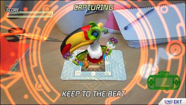 Screenshot - Invizimals: Die verlorenen Stämme (PSP)