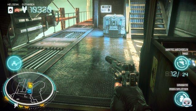Technisch ist Killzone: Mercenary ein absolutes Brett: Ob die feinen Spiegelungen...