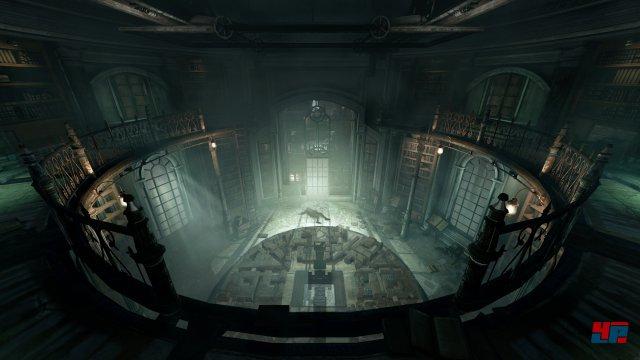 """Auch wenn die Kulisse mitunter stimmungsvoll ist: Die PlayStation 4 zeigt als """"Lead-Plattform"""" noch einige technische Defizite."""