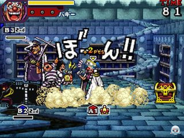 Screenshot - One Piece: Gigant Battle (NDS) 2237512