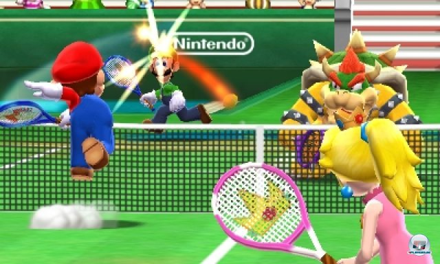 Screenshot - Mario Tennis 3D (3DS) 2266522