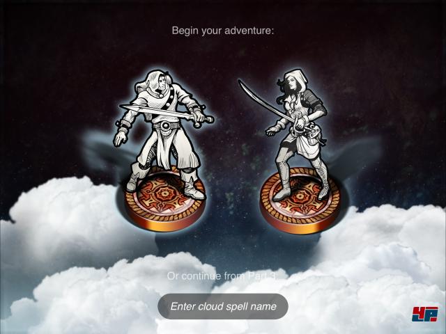 Screenshot - Sorcery! 4- The Crown of Kings (iPad)