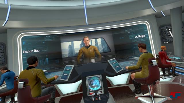 Willkommen auf der USS Aegis und ihrer Suche nach einer neuen Heimat für die Vulkanier.