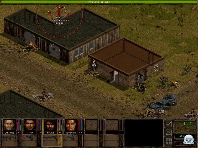 Screenshot - Jagged Alliance 2 (PC)