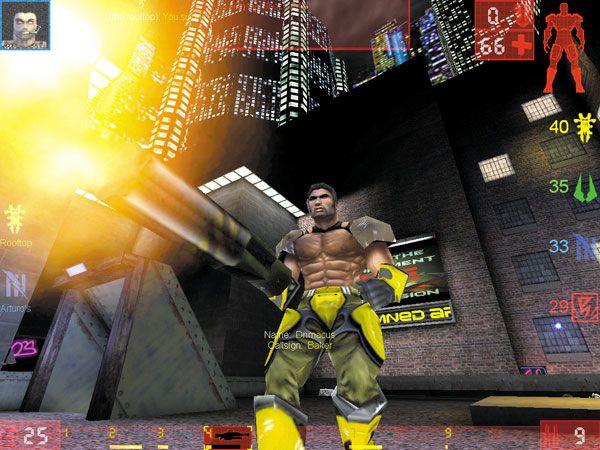Unreal Tournament<br><br>Im Jahre 1999 herrschte Krieg - Krieg um die Vorherrschaft um den Titel des besten Multiplayershooters! In der einen Ringecke: Altmeister id Software mit dem fantastisch designten Quake 3: Arena. In der anderen Ecke: Der aufstrebende Konkurrent Epic Games, der ein Jahr zuvor mit dem technisch und spielerisch brillanten Unreal für Unruhe unter Fans von Half-Life und Quake 2 gesorgt hat. Und obwohl mit harten Bandagen gefochten wurde, gab es keinen eindeutigen Sieger - beide Games waren technische Ausnahmeerscheinungen, boten großartige designte Schlachtfelder sowie clevere Bots, die auch kompetenten Solisten eine Herausforderung waren. Die Entscheidung, welcher Shooter jetzt der bessere ist, ist wahrlich nur vom Geschmack abhängig - aber vergesst dabei nicht, dass UT diesen großartigen aufladbaren Rocket Launcher hatte... 1718122