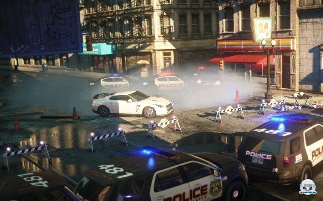 Die Polizei spielt zumindest für Solisten eine Rolle - welche, das führte Criterion noch nicht vor.