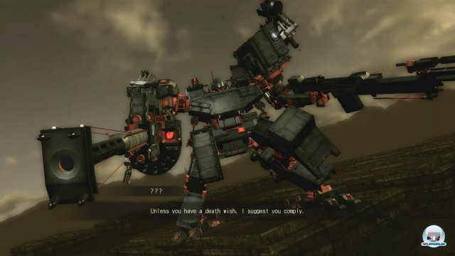 Screenshot - Armored Core: Verdict Day (360)