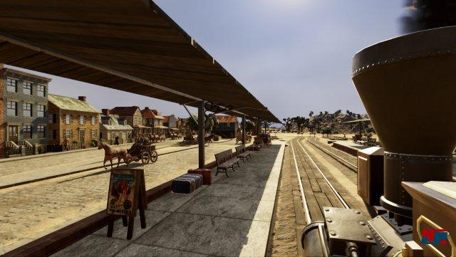 Screenshot - Railway Empire (Linux)