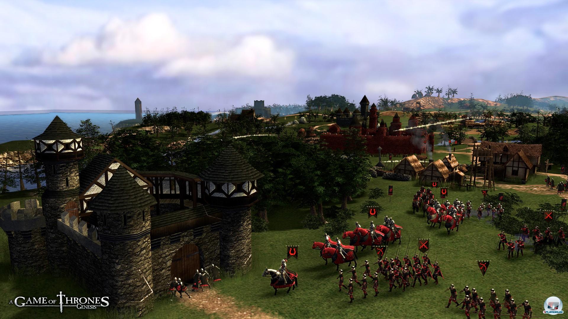 Ein Vielzahl von Einheiten durchkämmen das Land, von denen die wenigsten Krieger sind.