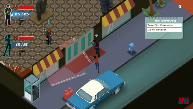 Screenshot - LA Cops (PlayStation4)