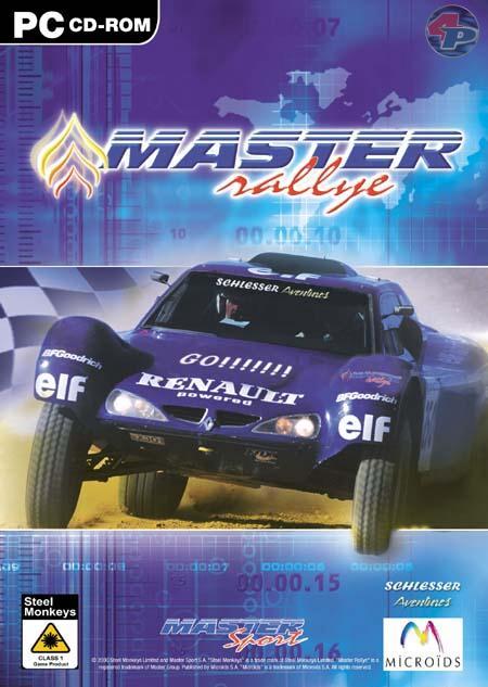 Der Packshot für die PC-Verpackung von Master Rallye. 22538