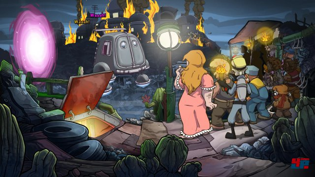 Screenshot - Deponia Doomsday (Linux)