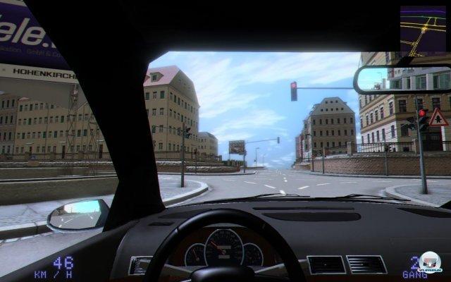 Die Cockpitperspektive vermittelt den höchsten Grad an Realismus.