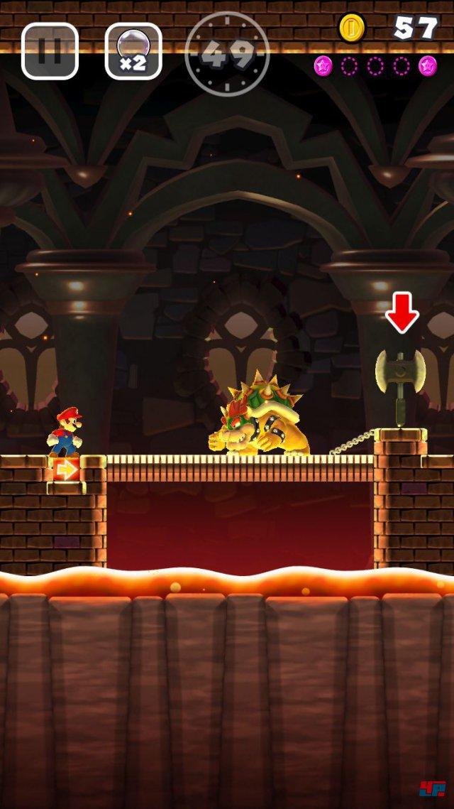 Screenshot - Super Mario Run (iPad) 92537686