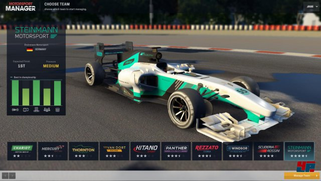 Screenshot - Motorsport Manager (PC)