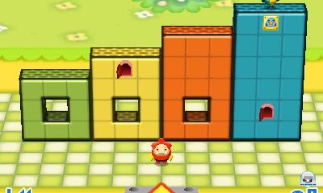 Screenshot - Fallblox (3DS)