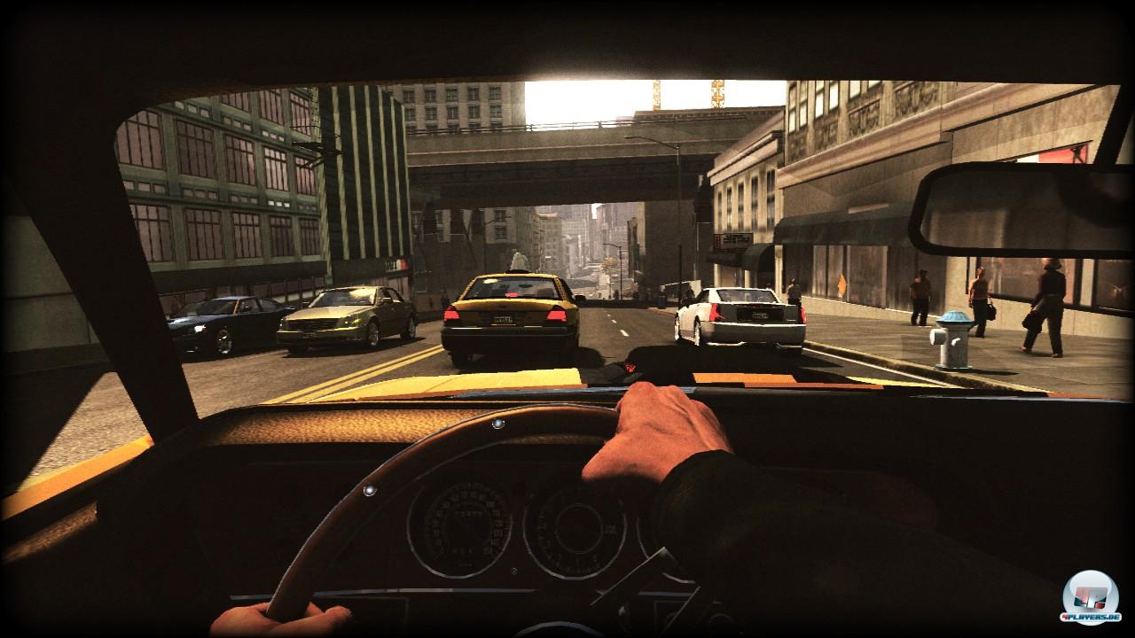 Auch in der Cockpitansicht darf man durch San Francisco rasen und cruisen.
