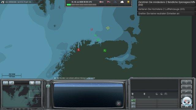 Zur Erfüllung der Missions-Ziele gilt weitgehende Handlungsfreiheit. Neutrale Schiffe sollte man aber schonen.