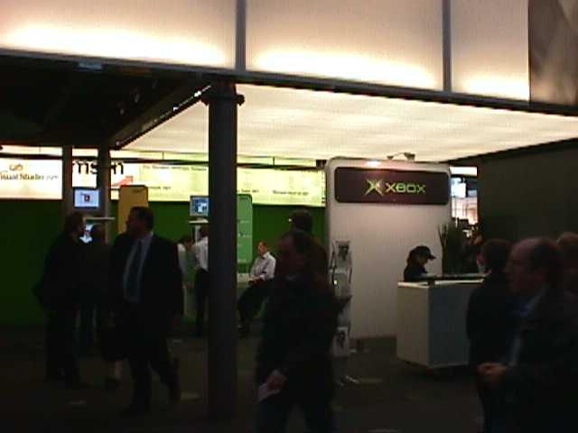 Der kleine Xbox Stand