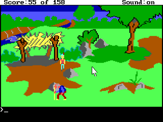 Screenshot - King's Quest: Quest for the Crown (PC)
