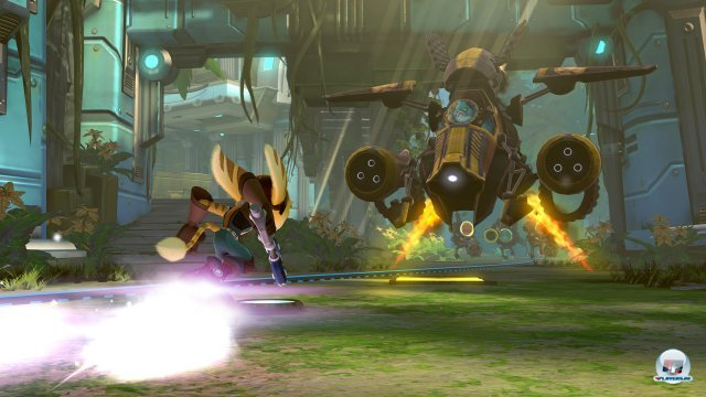 Screenshot - Ratchet & Clank: QForce (PlayStation3)