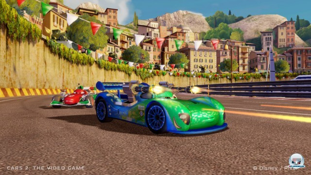 Screenshot - Cars 2: Das Videospiel (360) 2230983
