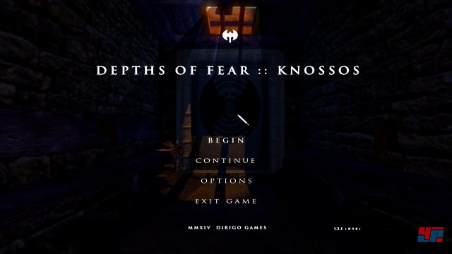 Screenshot - Depths of Fear: Knossos (PC)