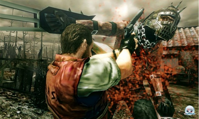Screenshot - Resident Evil: The Mercenaries 3D (NDS) 2223792