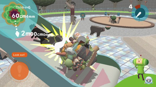 "Verbl�ffend: Touch my Katamari macht aus ""more of the same"" doch tats�chlich ""much less of the same""."