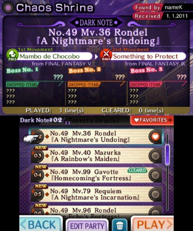 Screenshot - Theatrhythm: Final Fantasy (3DS) 2366167