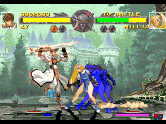 Guilty Gear auf der Ur-PlayStation hat in vielerlei Hinsicht den Grundstein für die Mechanik und das visuelle Design der Arc-System-Prügler bis heute gelegt.