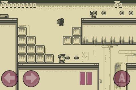 Der knackig schwere Hüpfausflug führt über Anhöhen, durch Schlösser und andere an Super Mario Land angelehnte Kulissen. Auf den Grünstich des Original-GameBoys haben die Entwickler aber verzichtet.