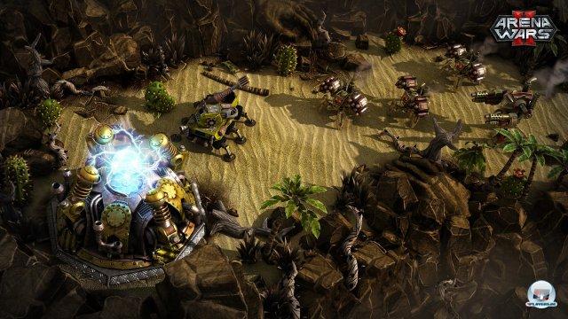 Leider gleichen sich die Schlachtfelder zu sehr - Abwechslung ist nicht die Stärke des Spiels.