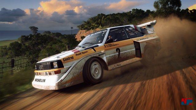 Der Ur-Quattro darf in keinem Rallye-Spiel fehlen.