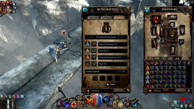 """Auch das so genannte """"Rune-Crafting"""" wurde deutlich aufgewertet."""