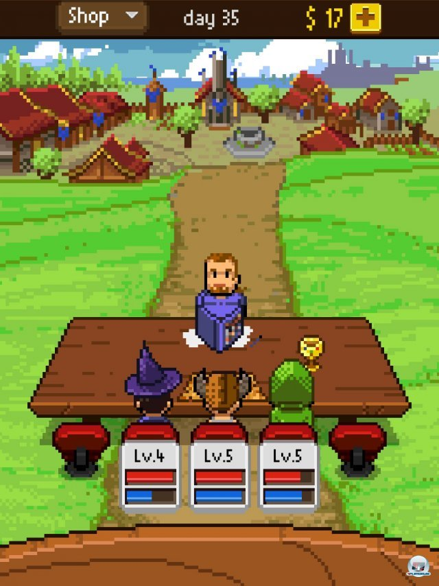 Screenshot - Knights of Pen & Paper (iPad)