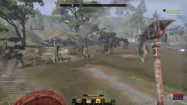 Wenn die Feinde mit Belagerungswaffen vor den Toren stehen, wird es gefährlich.