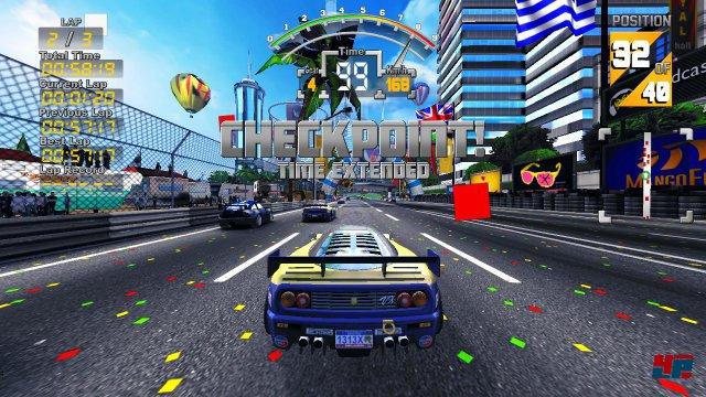 Screenshot - The 90's Arcade Racer (PC)